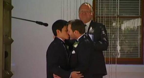 boda gay Australia