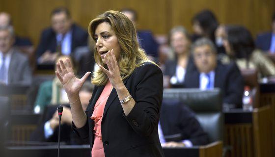 Susana Díaz presidenta Andalucia PSOE 2013