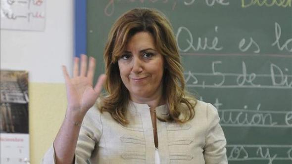 Susana Díaz presidenta Andalucía PSOE