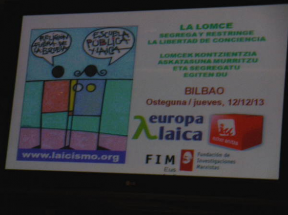 Conferencia Bilbao 2013