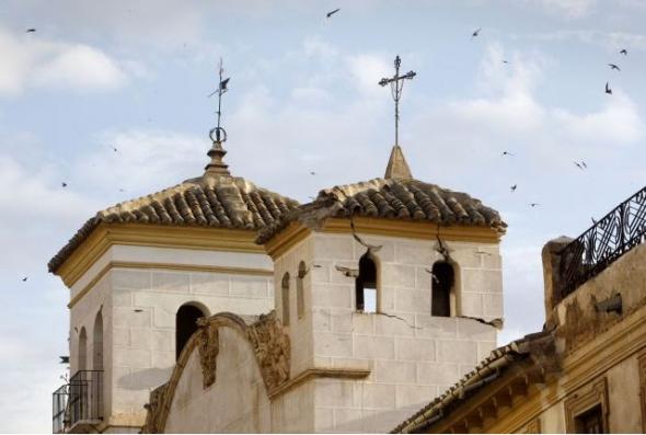 iglesia de Lorca