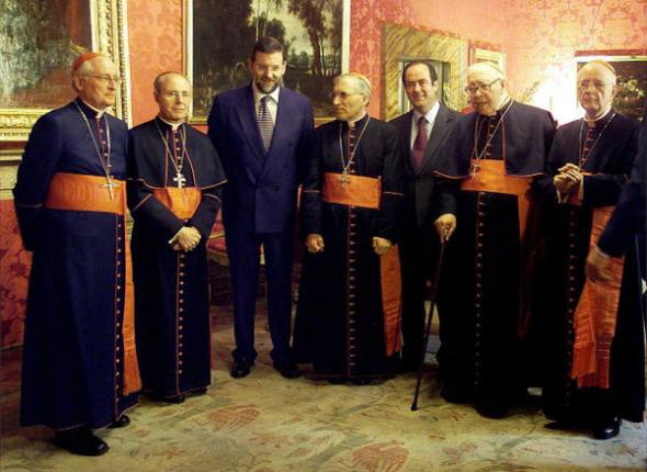 Bono PSOE Rajoy PP Rouco Varela 2001