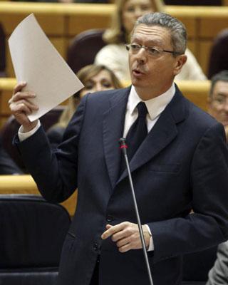 Gallardón ministro Justicia PP2013