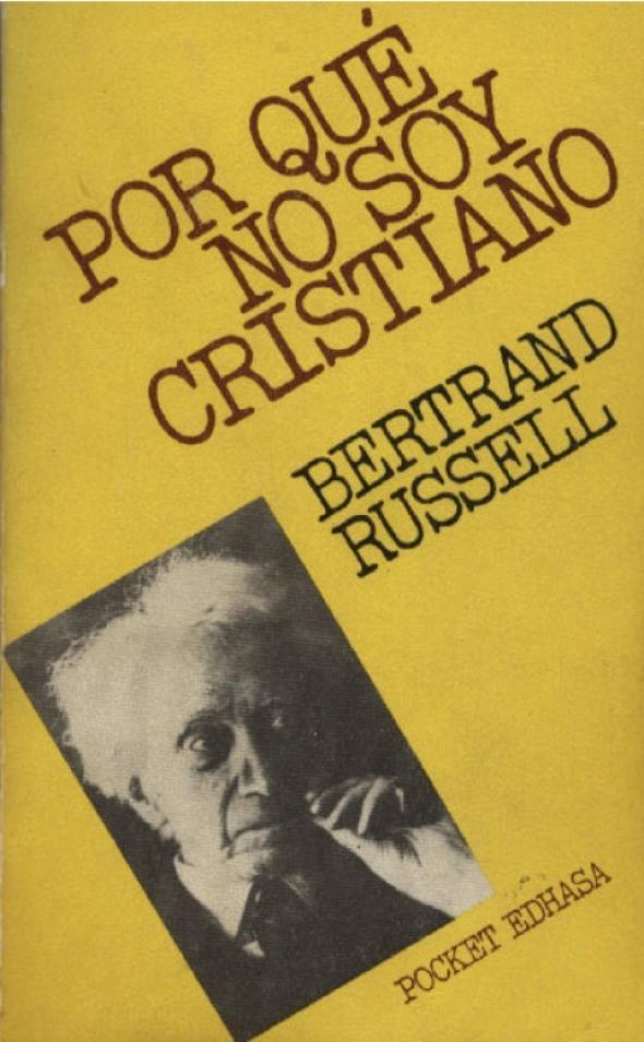 libro Por qué no soy cristiano