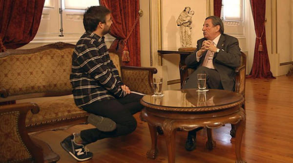 Francisco Vázquez y Jordi Evole
