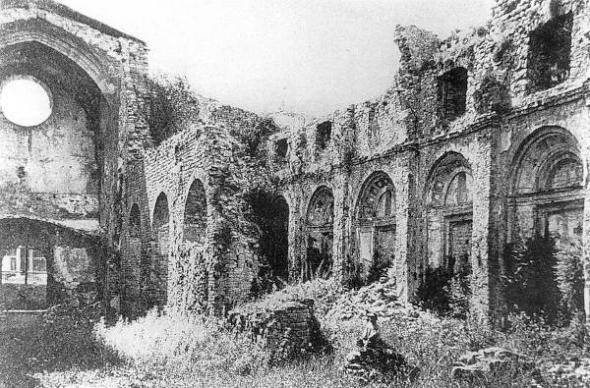 iglesia quemada Ripoll