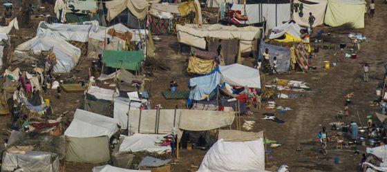 campo refugiados Centroáfrica 2013