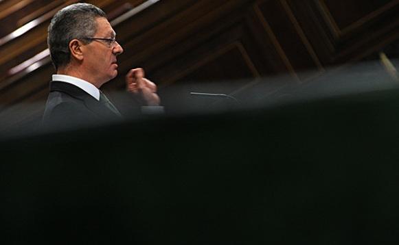 Gallardón en el Congreso 2013