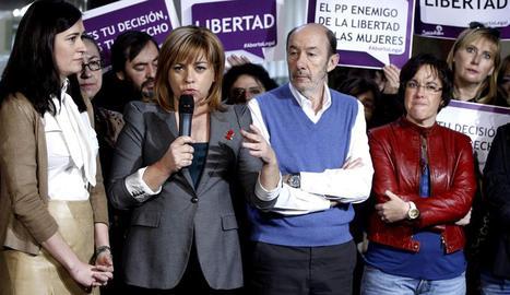 PSOE contra ley aborto PP 2013