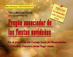 pregón navidad Algeciras 2013