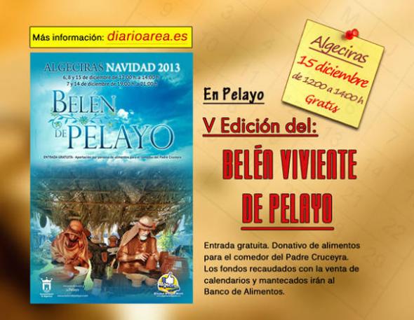 belén viviente Algeciras 2013