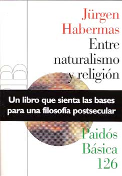libro Entre naturalismo y religion