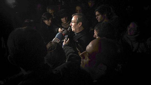 arzobispo Pamplona ante clínica aborto 2013