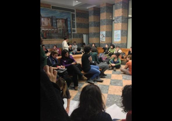 encierro mujeres hospital de Cruces 2013