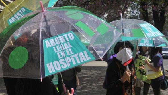 protesta aborto Salta Argentina