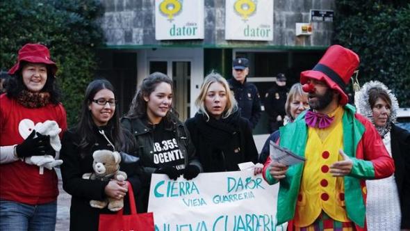 protesta anti aborto Madrid 2013