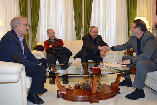 firma convenio Diputación y obispado Ciudada Real 2013