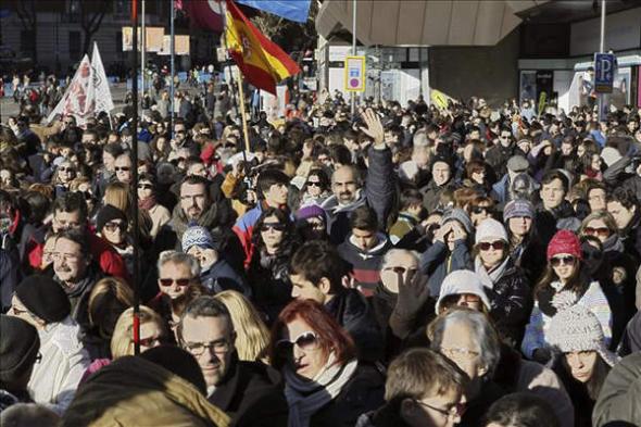 misa familias Madrid 2013
