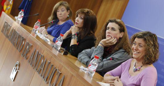Diputadas y transexuales 2013 Andalucía
