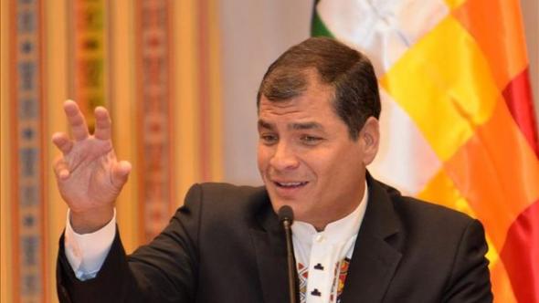 Correa presidente Ecuador 2013