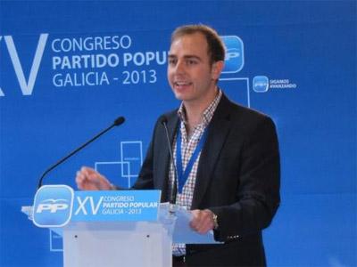 Javier Dorado secretario Nuevas Generaciones PP