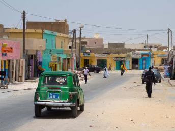 Nouadhbou en Mauritania