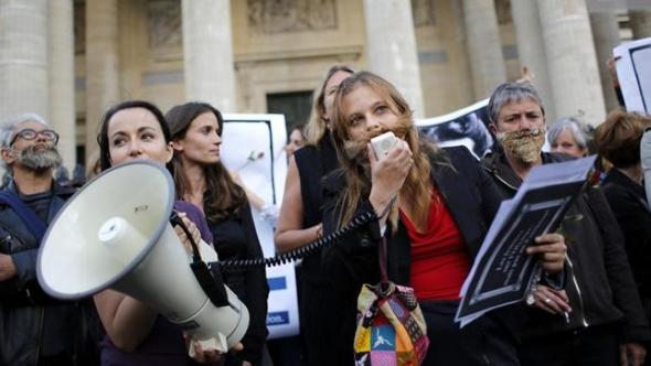 mani feministas Francia