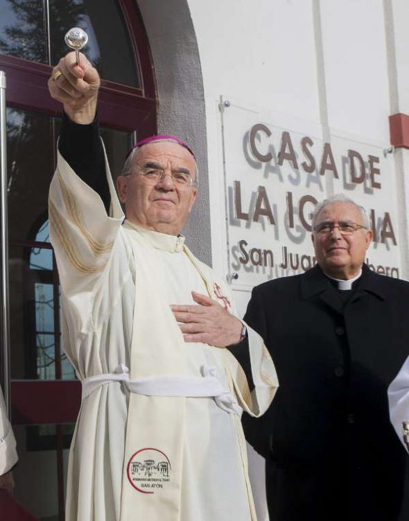 Renzo Fratini nuncio 2013