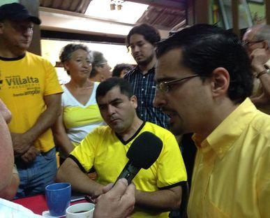 Villalta candidato Costa Rica 2014