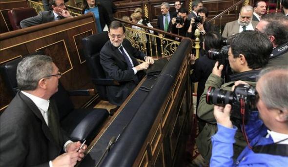 Rajoy y Gallardón PP 2014