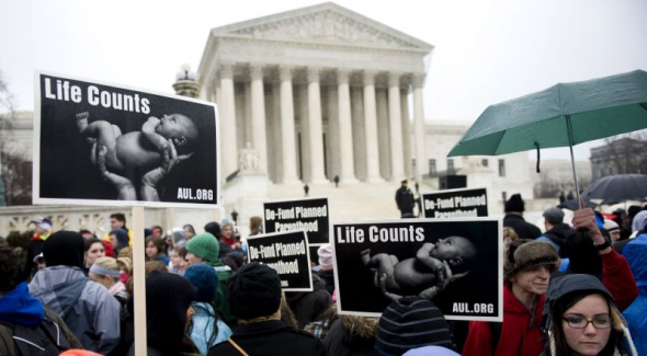 mani anti aborto USA