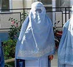 mujer burka