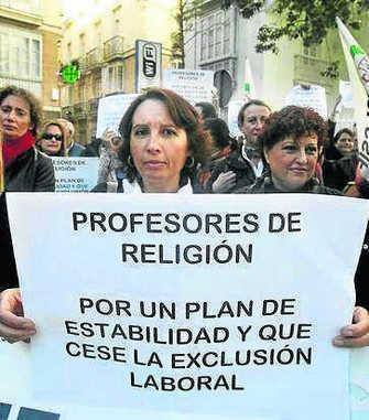 protesta catequistas religión