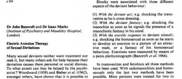 terapia homo