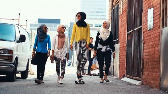 musulmanas jóvenes Rabat