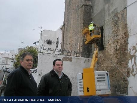 Restauración iglesia de Arcos