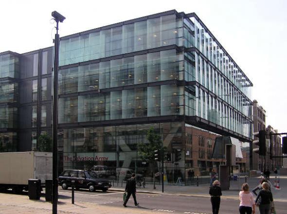 sede Ejército de Salvación Londres