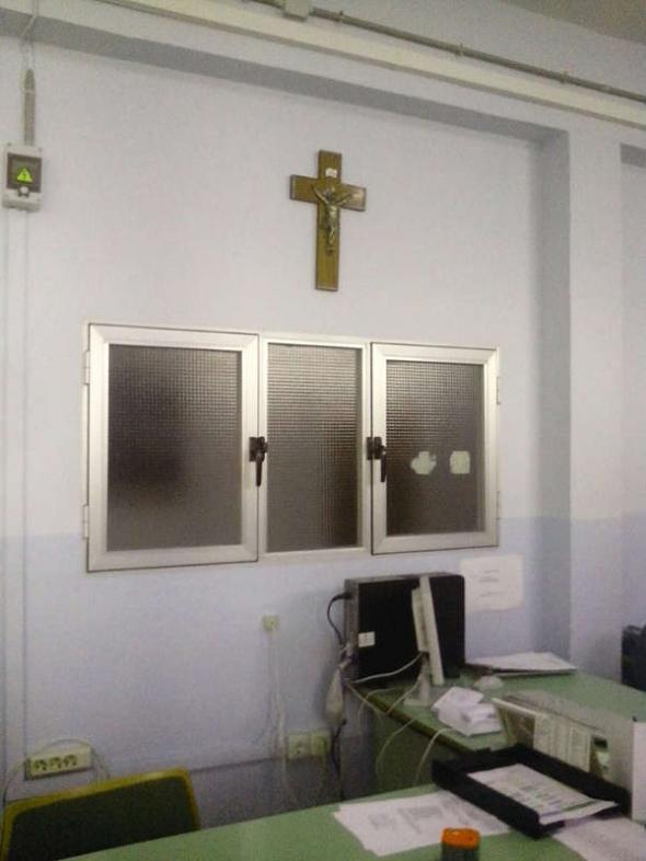 crucifijo IES Tolosa de La Línea 2014