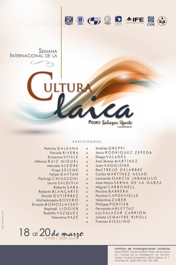 Semana Cultura Laica UNAM