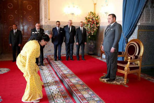 Gobernadora Marruecos