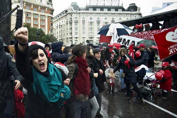 mani antiaborto Madrid2013