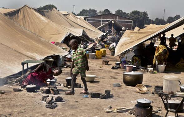 Republica Centroafricana refugiados 2014