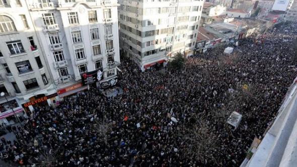 mani contra gobierno turco Estambul