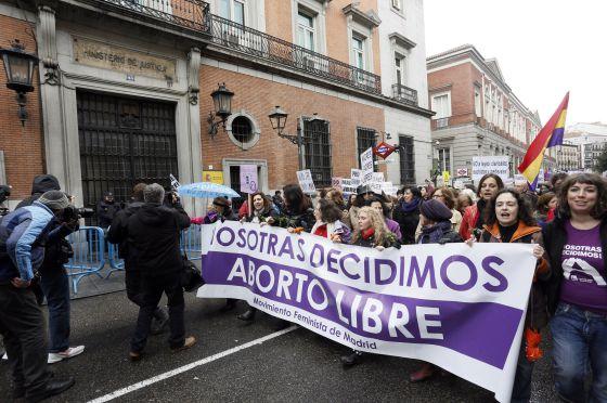 mani aborto libre Madrid 2014