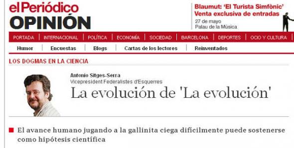 Sitges Serra creacionistas de izquierdas