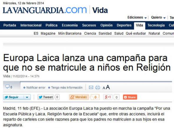 EL Campaña La Vanguardia