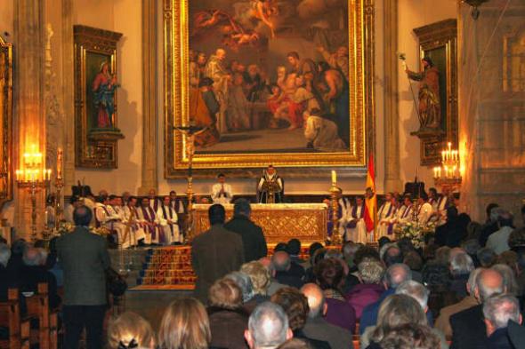 Misa a Blas Piñar 2014