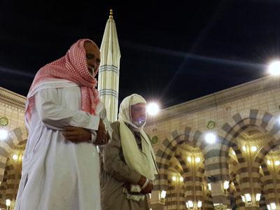 Rezo mezquita Medina