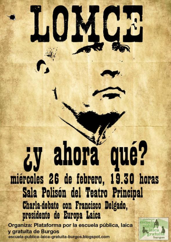 Charla LOMCE Burgos 2014
