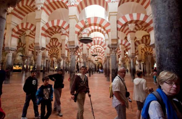Mezquita de Córdoba turistas